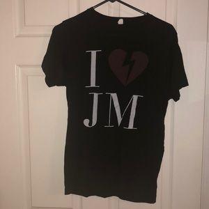 John Mayer concert T-shirt